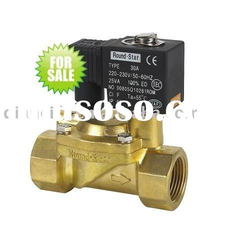 DFD-25 pilot operated brass electric solenoid water valve