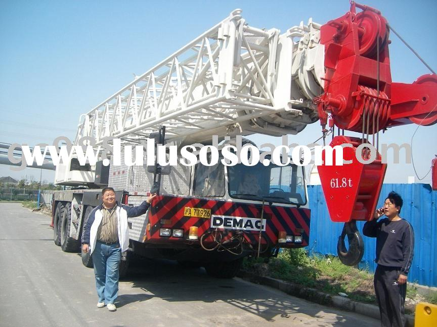 Demag 100t used crane used truck crane used demag truck crane used mobile crane