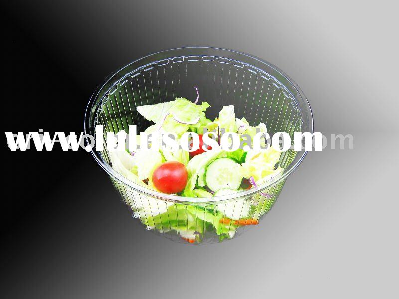 Disposable Plastic Salad bowl