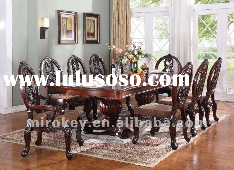 Elegant Dining room set&dining room table&arm chair&side chair