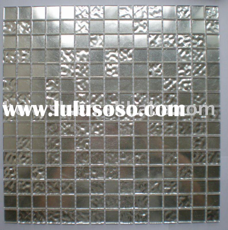 Good quality Real silver glass mosaic,mosaic tile,Glasfliese,art mosaic,glass tile FA01 for hotel,vi