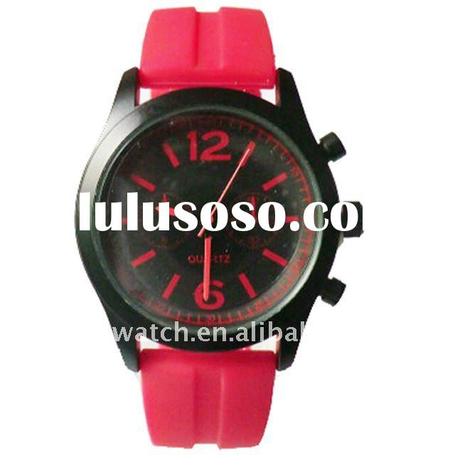 High quality Waterproof silicone watch ladies