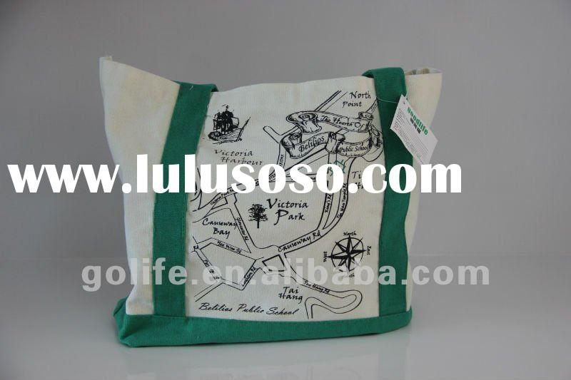 High quality small canvas tote bags wholesale