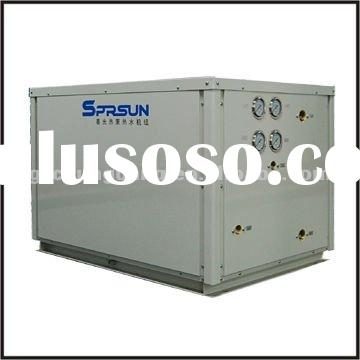 High temperature green source industrial Geothermal Source Trinity Heat Pump