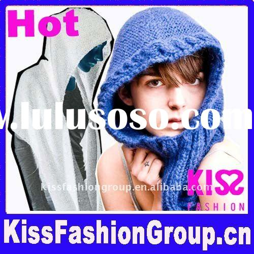 Hot Knitted Hooded Warm Scarf