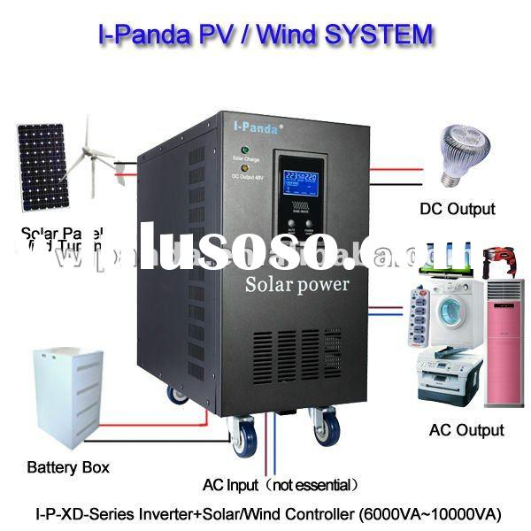 Intelligent control low frequency pure sine wave inverter with LED display I-P-XDC-10000VA(7000W)