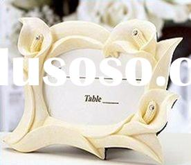 Ivory Calla Lily Place card Frame(wedding favor)