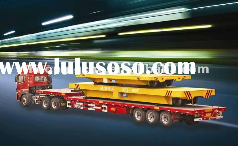 KPJ-100ton electric flatbed trailer for industrail