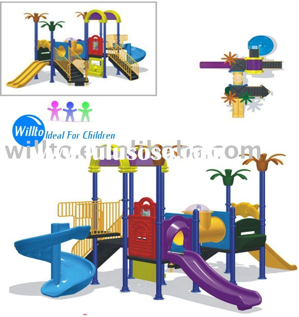 Kids Residential Outdoor Playground Equipment WT-225A