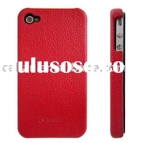 Leather Hard Case Cover for iphone 4
