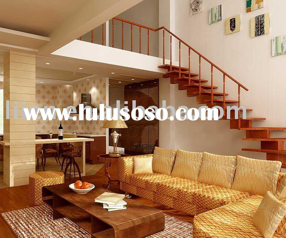 Liien Solid Wooden staircases,The Cadise Series Stairs From Italy