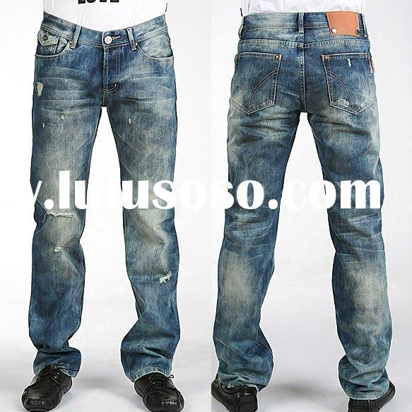 New Arrival Men Denim Jeans Pants/Brand Designer baggy loose Jeans Top Quality Can Mix Order Wholesa