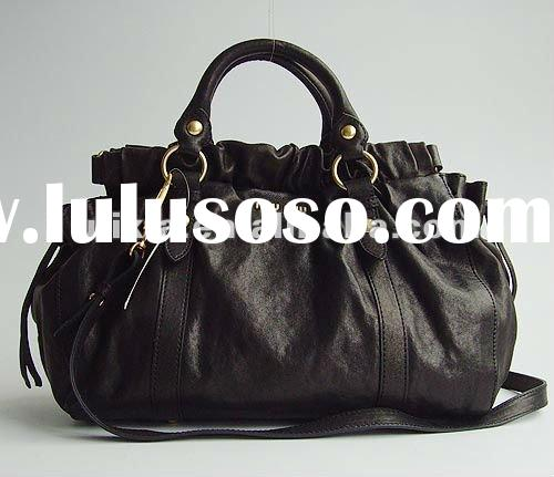 New famous name brand women leather handbags