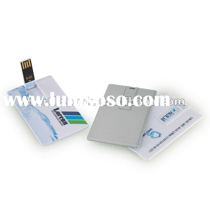 OEM 4gb credit card usb memory/with CE/credit card usb