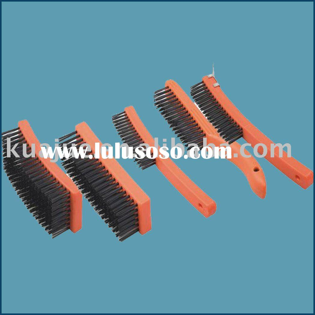 Plastic handle steel wire brush/Floor brush