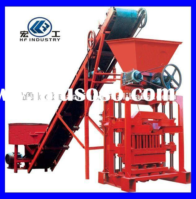 QTJ4-35B2 small concrete block making machine for African market