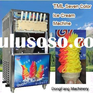 Rainbow soft serve ice Cream Maker TML760