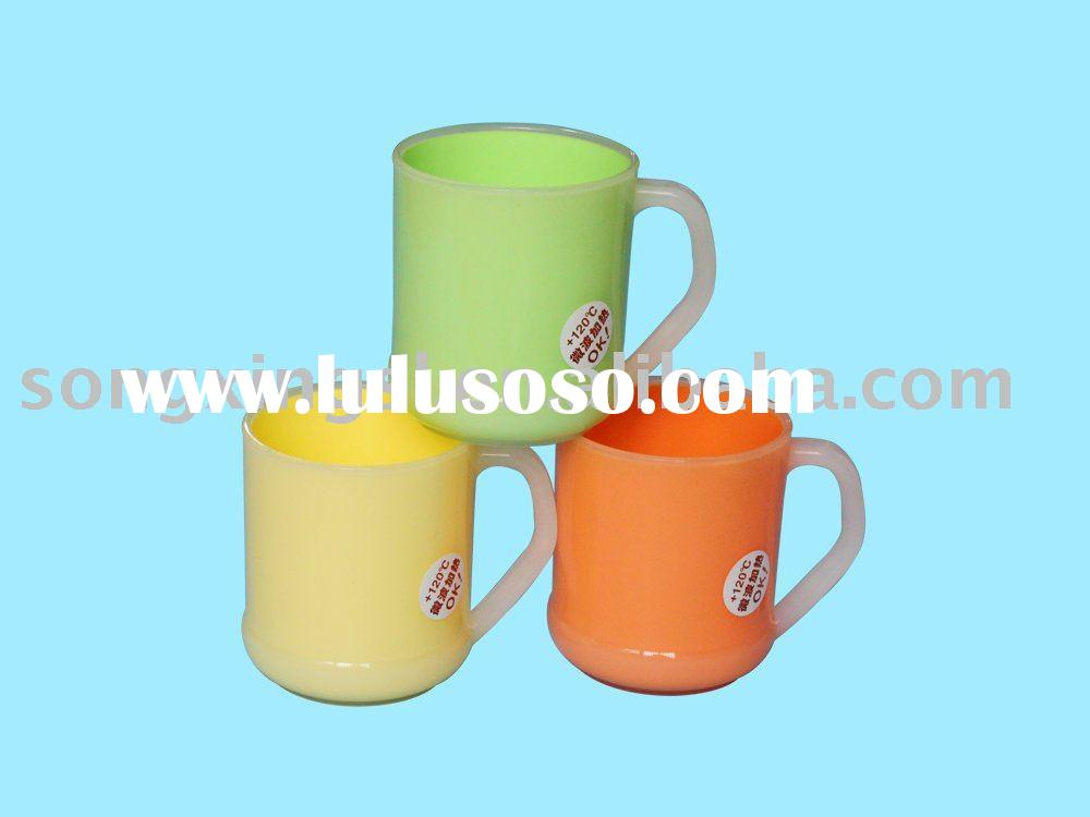 Round Double-deck mug cup(big size) with lid