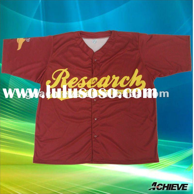 SUBLIMATED CUSTOM SOFTBALL JERSEYS