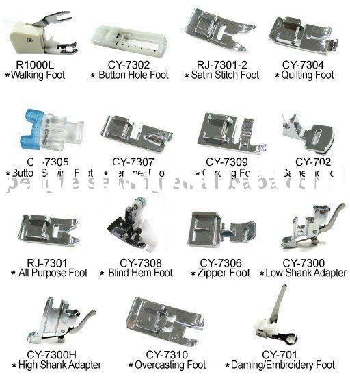 Sewing accessory Presser Foot RJ-215 Domestic Sewing Parts