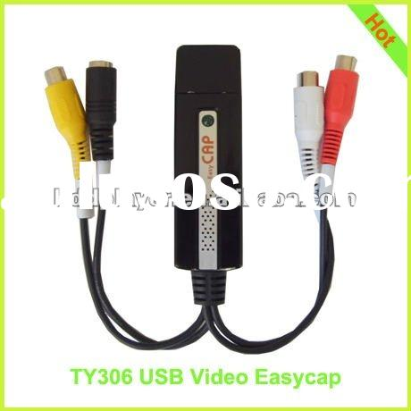 Simple and easy USB video capture card, 1ch usb video easycap