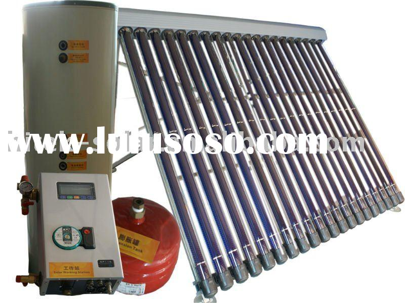 Split Solar Water Heating System 70mm MGV tube with SRCC certificate