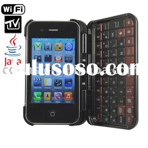 T7000 QWERTY Keyboard TV WIFI phone,3G chat,GSM Mobile Phone,Brand New Mobile Phone