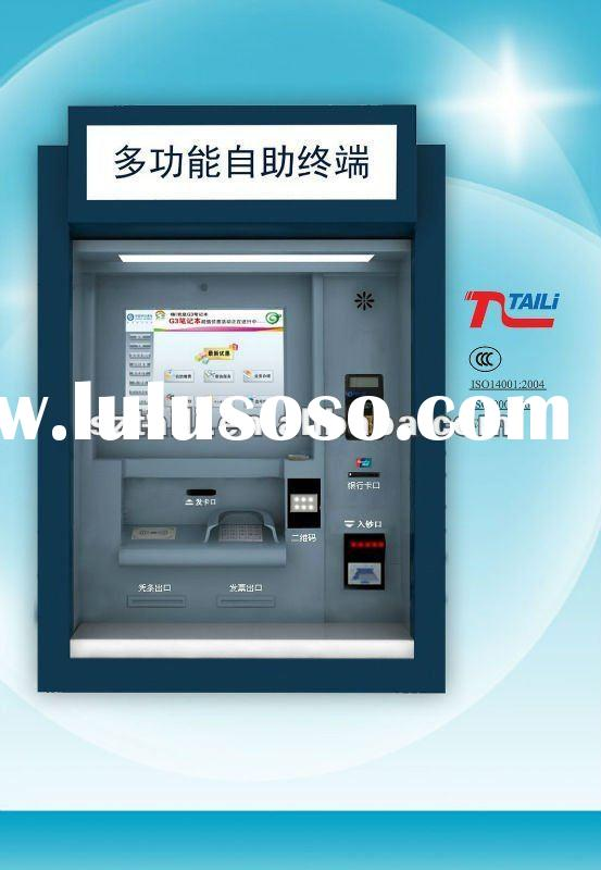 Through the Wall Payment touch screen kiosk payment machine TLST-2002