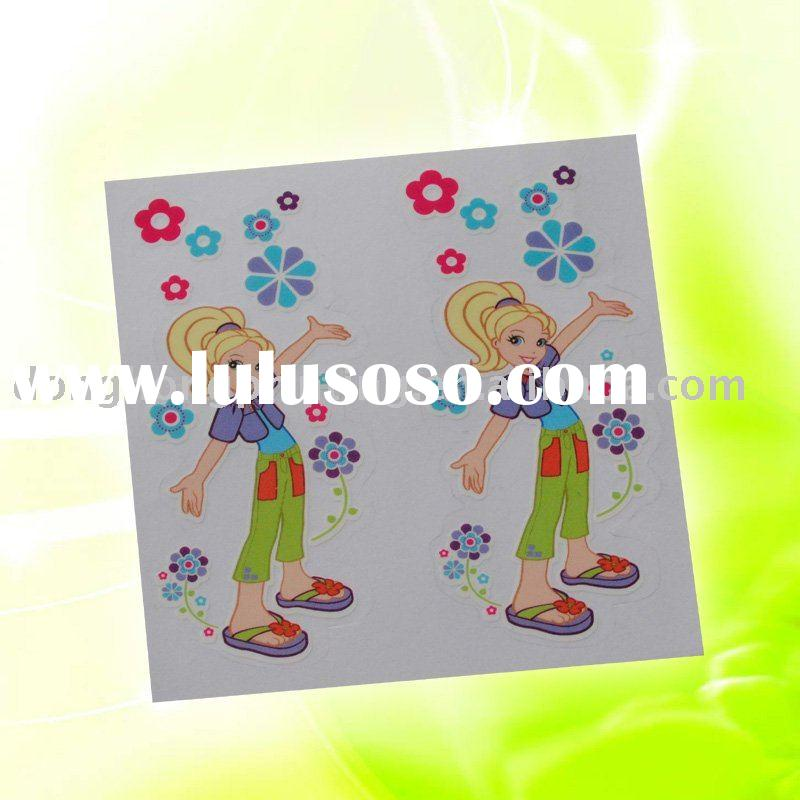 Transparent sticker paper printing service