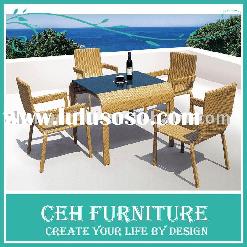 Really Cheap Furniture For Sale: Outdoor Furniture Rattan Chairs And Table Set 3pcs B-060