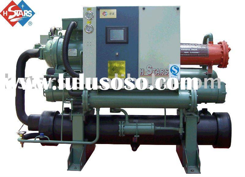 Water Cooled Screw-type Low Temperature Chiller (with heat recovery)