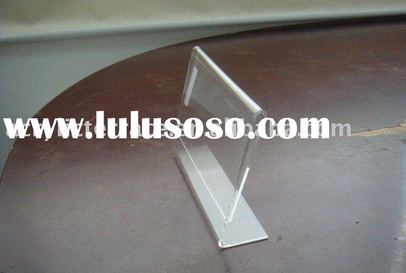 acrylic sign holder,acrylic price tag holder