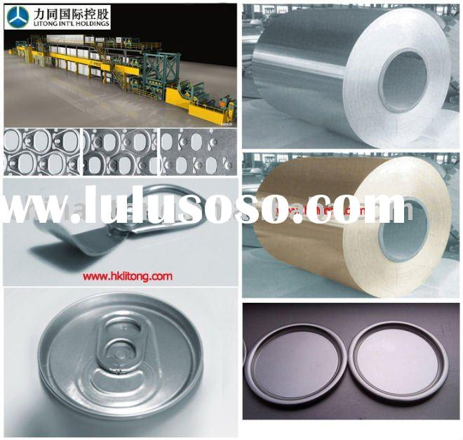 aluminum roll for ring-pull tin cover