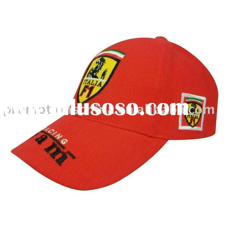 brushed heavy weight cotton racing cap