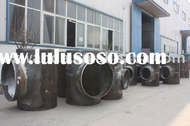 carbon steel pipe transition tee fitting