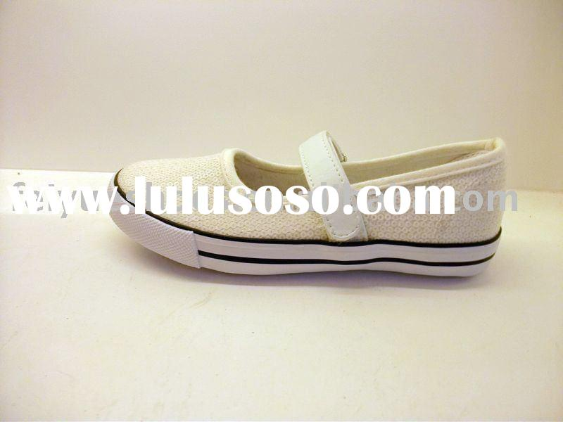 cute simple casual canvas children shoes