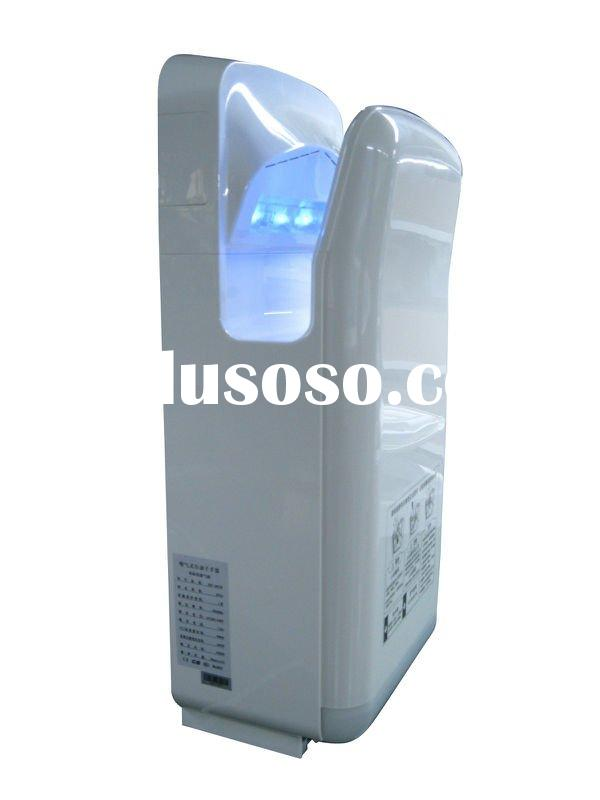 dual air jet hand dryer with LED display
