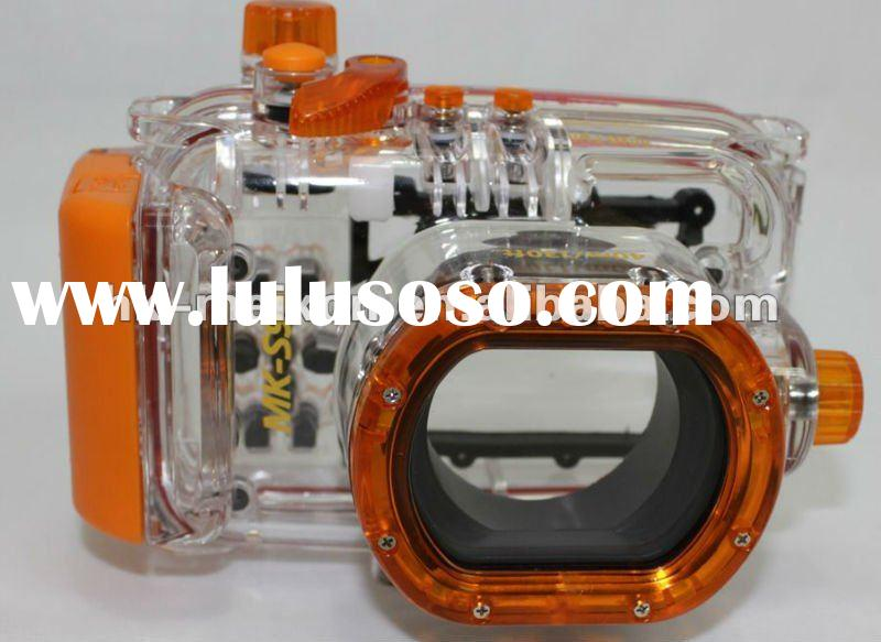 high quality waterproof camera case digital camera case underwater 40M for Canon S95