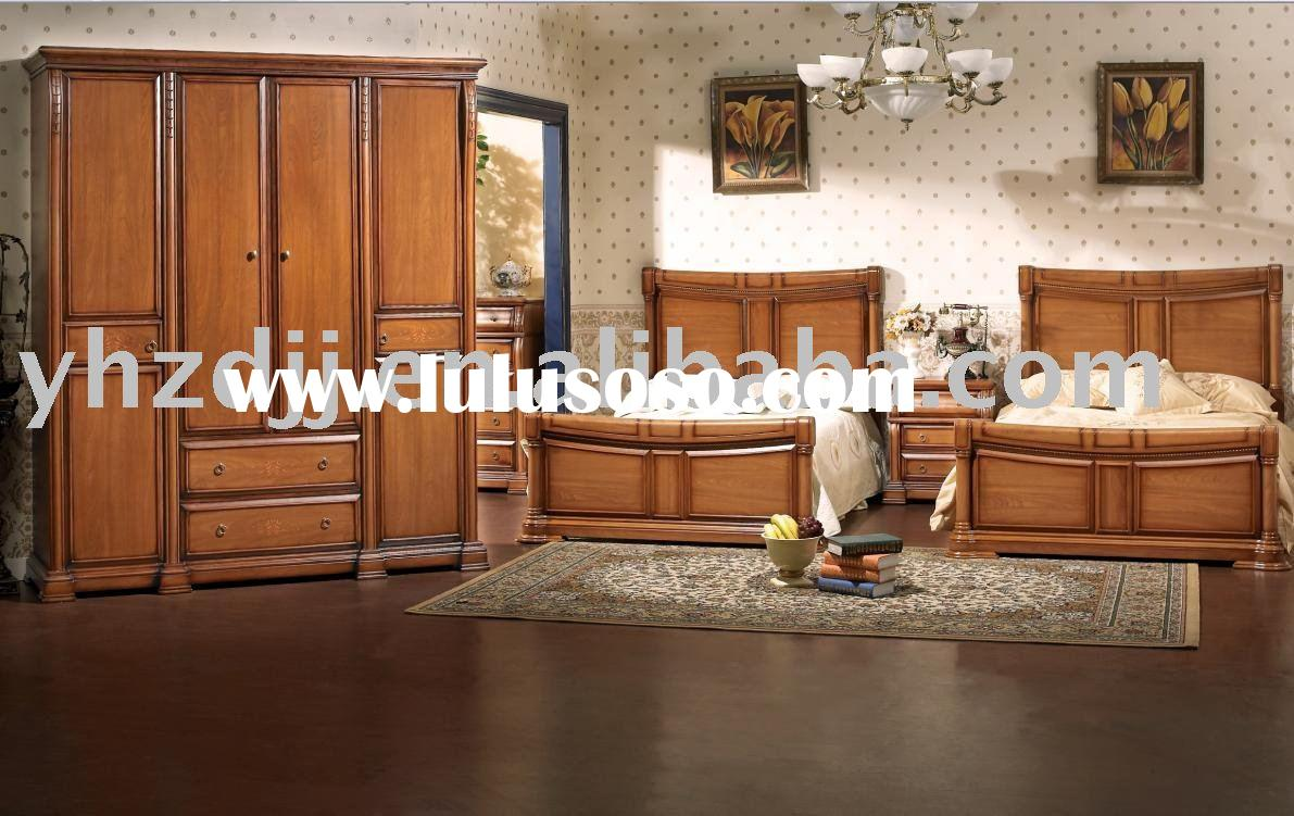 hualing classic home furniture F-9 single bed set
