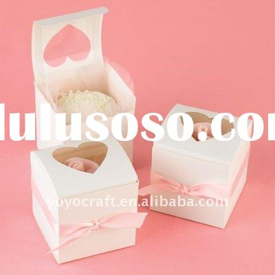 party favour custom made wedding sweet boxes in various colors for wholesale/retail