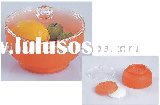 "plastic 6""salad bowl set with cooler bag"