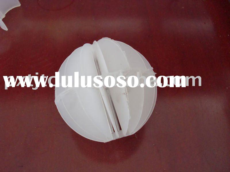 plastic Hollow ball for tower packing