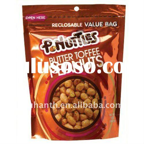 plastic cookie packaging bag with hanger hole