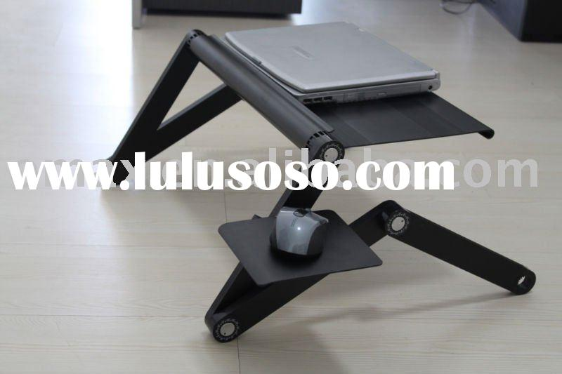 portable laptop desk with mousepad