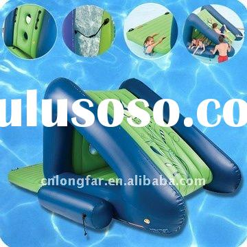 pvc inflatable water slide, pool slide,amusement park