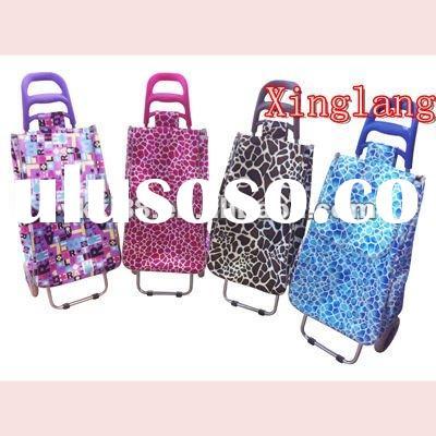 shinny satin fabric folding shopping cart ZZ302B-73