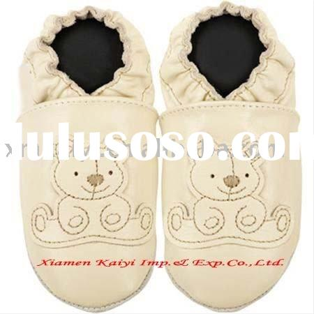 soft sole baby leather shoes 2012