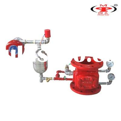 wet alarm valve for fire alarm system
