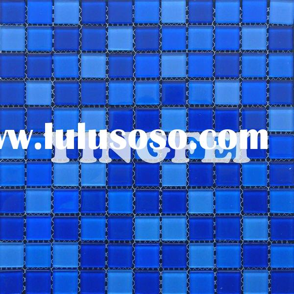 Blue Glass Tile Round Mosaic Cg002 For Sale Price China Manufacturer Supplier 1454618