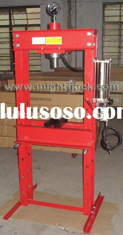 30 Ton Air/Manual Hydraulic Shop Press